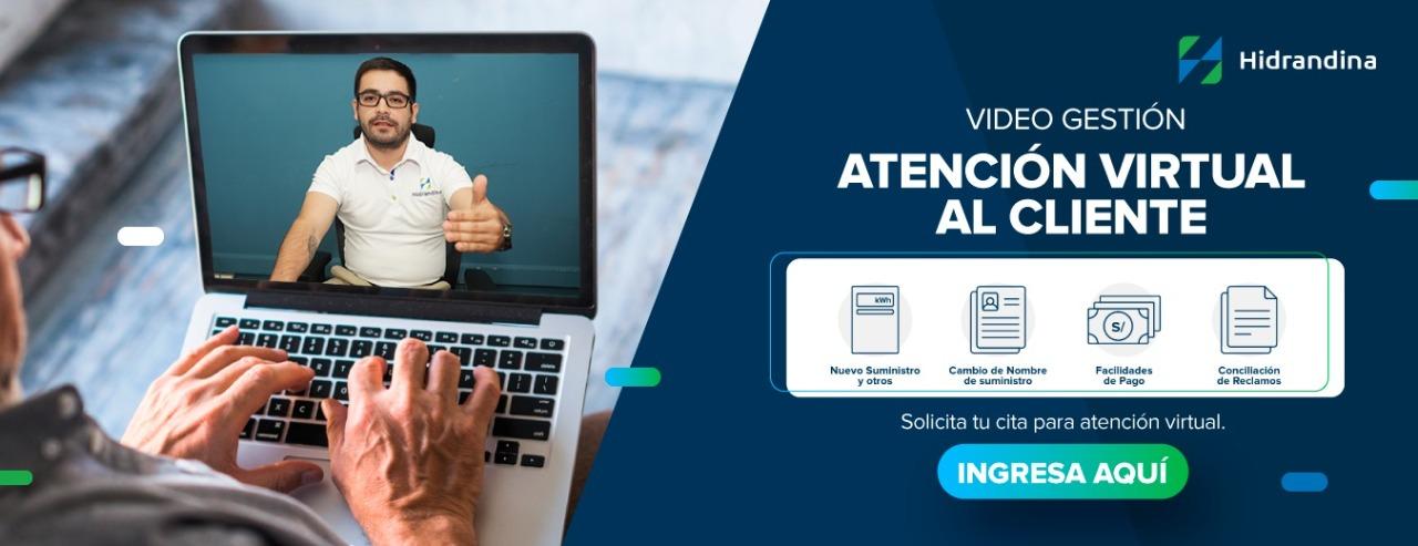Video gestión de Atención Virtual al Cliente Hidrandina - Dsitriluz